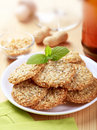 Healthy cookies Stock Image