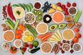 Plant Based Healthy Diet Vegan Food Collection Royalty Free Stock Photo