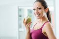Healthy eating and weight loss Royalty Free Stock Photo