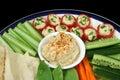 Healthy Entertaining Platter Royalty Free Stock Photo