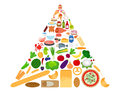 stock image of  Healthy food diet infographics