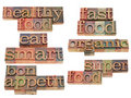 Healthy food - eat smart Royalty Free Stock Image