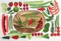 Healthy Fresh Super Food Royalty Free Stock Photo