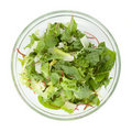Healthy green salad Royalty Free Stock Photo