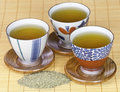 Healthy green tea Stock Image