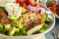 Healthy Hearty Cobb Salad Royalty Free Stock Photo