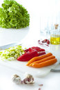 Healthy ingredients Stock Photography