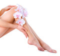 Healthy Legs. Spa Royalty Free Stock Images