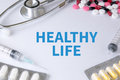 HEALTHY LIFE Royalty Free Stock Photo