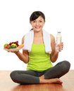 Healthy lifestyle balance Royalty Free Stock Photography