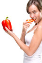 Healthy lifestyle eat lots of vegetables Royalty Free Stock Photography