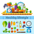 Healthy lifestyle, a healthy diet