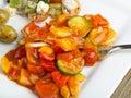 Healthy Mediterranean food Royalty Free Stock Photo