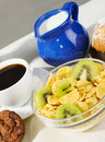 Healthy morning meal Stock Photos