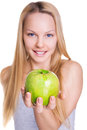 Healthy nutrition and beauty Stock Images