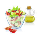 Healthy nutrition composition vector illustration Royalty Free Stock Photos