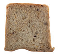 Healthy, nutritious multi-grain single bread slice Stock Photos