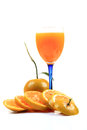 Healthy orange juice Royalty Free Stock Photos