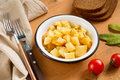 Healthy potato salad Royalty Free Stock Photo