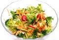 Healthy raw vegan salad