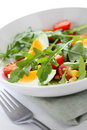 Healthy rocket salad Royalty Free Stock Photo