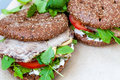 Healthy sandwich Royalty Free Stock Photo