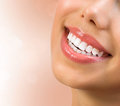 Healthy smile teeth whitening dental care concept Stock Photos