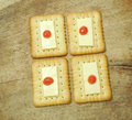 Healthy Snack Cracker Biscuit Royalty Free Stock Photo