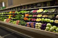 Healthy vegetables grocery store lots of in a small Royalty Free Stock Photography