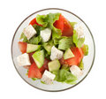 Healthy vegetarian Salad Royalty Free Stock Photo