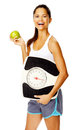 Healthy weightloss woman Royalty Free Stock Photo