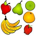 Healty Food Fruit Clip Art Stock Images