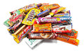 Heap of Assorted Chocolate Products Stock Photography