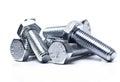 Heap of bolts Royalty Free Stock Photo
