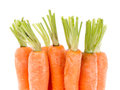 Heap of carrots Stock Photo