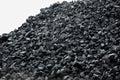 Heap of coal. Royalty Free Stock Photo