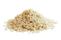 Heap of decorticated sesame seeds Royalty Free Stock Photo