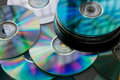 Heap of Disks Royalty Free Stock Images
