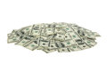 Heap of dollars money background Royalty Free Stock Image