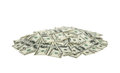 Heap of dollars money background Stock Photography