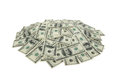 Heap of dollars money background Royalty Free Stock Photo