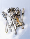 A heap of forks Royalty Free Stock Image