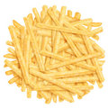 Heap of french fries Royalty Free Stock Image