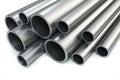 Heap steel pipes