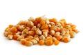 Heap of unpopped popcorn Royalty Free Stock Photo