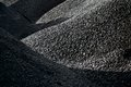 Heaps of coal Royalty Free Stock Photo