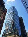 Hearst tower a building in midtown manhattan new york city Stock Photo
