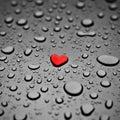 Heart as a rain drop