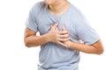 Heart Attack of man Royalty Free Stock Photo