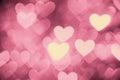 Heart Background Photo Light P...